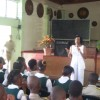 Visit to High School in Jamaica